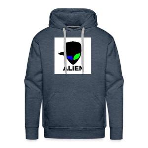 ALIEN LOGO - Men's Premium Hoodie