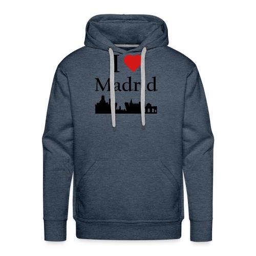 I Love Madrid - Men's Premium Hoodie