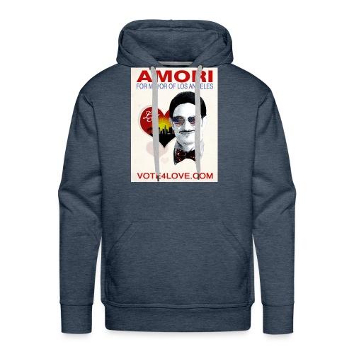 Amori for Mayor of Los Angeles eco friendly shirt - Men's Premium Hoodie