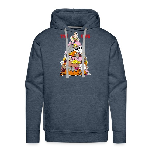 The King - Men's Premium Hoodie