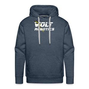 VOLT Robotics White Logo - Men's Premium Hoodie