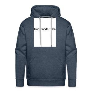Red panda tube - Men's Premium Hoodie