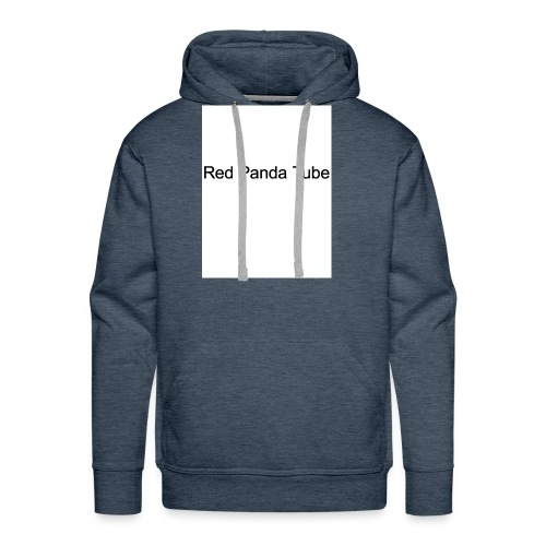 Red panda tube - Men's Premium Hoodie