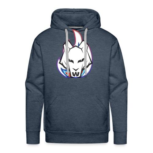 Wolf Flame - Men's Premium Hoodie