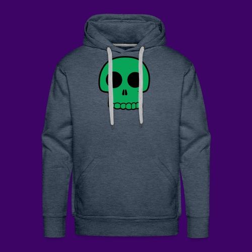 Green Skull - Men's Premium Hoodie