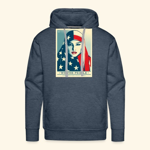 We the people are greater than fear - Men's Premium Hoodie