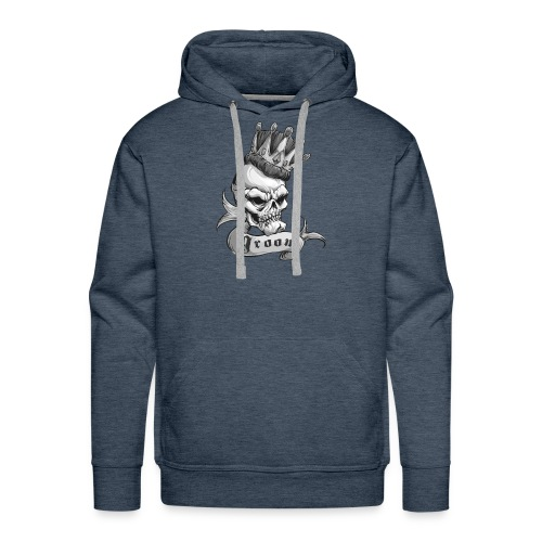 King of the Castle (BW) - Men's Premium Hoodie