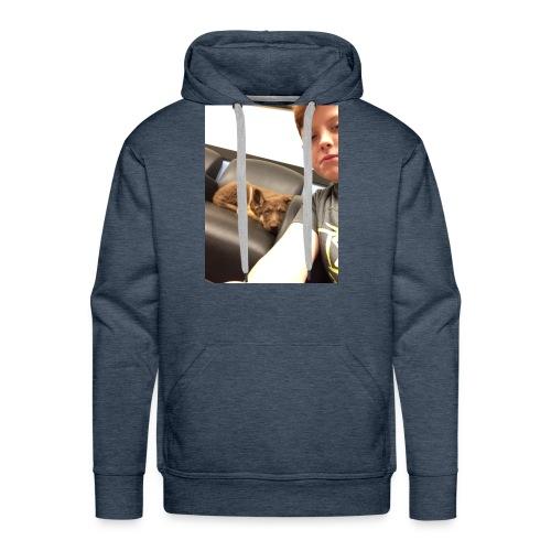 Kimber the puppy - Men's Premium Hoodie