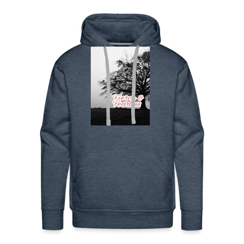 Fierce and Fearless - Men's Premium Hoodie