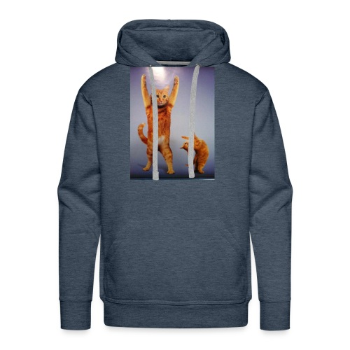 can do all things cat - Men's Premium Hoodie