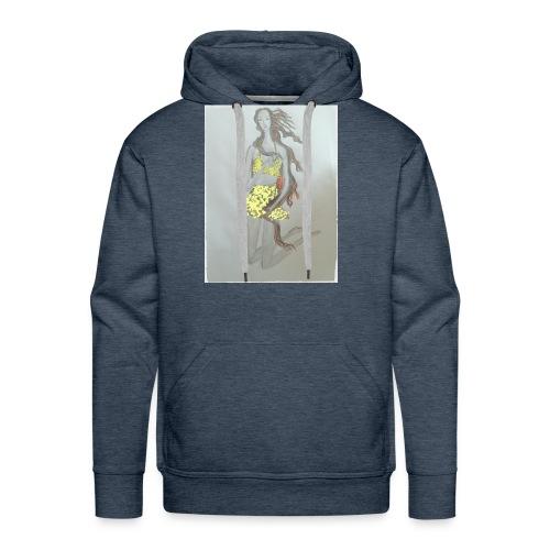 Venus fashion illustration style - Men's Premium Hoodie