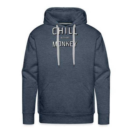 Monkey and Chill - Men's Premium Hoodie