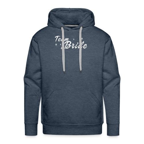 Wedding Gift Shirt Bachelorette Party Team Bride - Men's Premium Hoodie