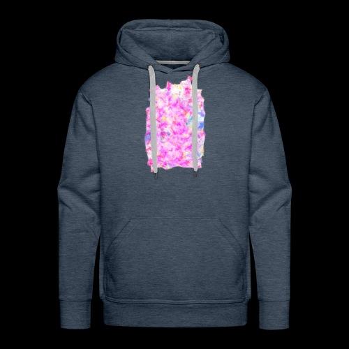Pink pattern - Men's Premium Hoodie