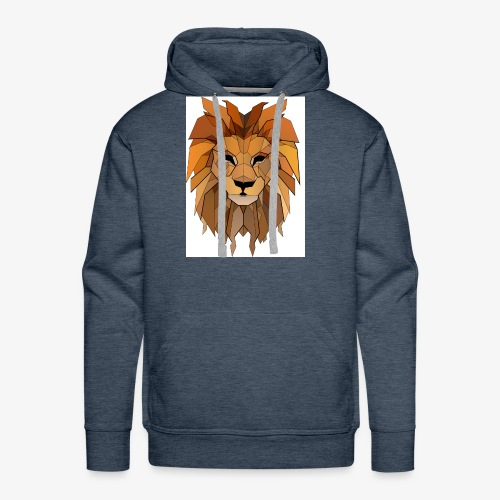 lion vintage - Men's Premium Hoodie