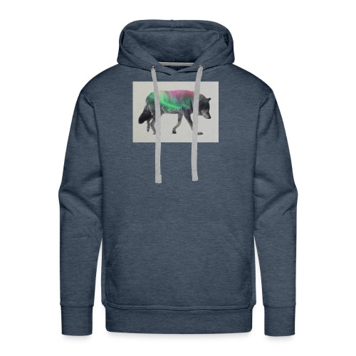 Double Exposure Of Animals - Men's Premium Hoodie