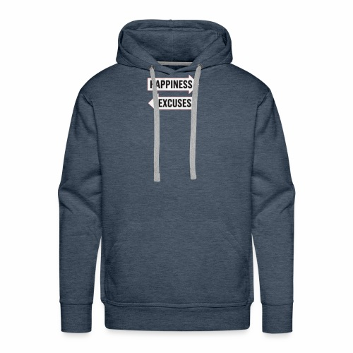 a simple choice - Men's Premium Hoodie