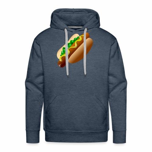 Just a Hot Dog Shirt - Men's Premium Hoodie
