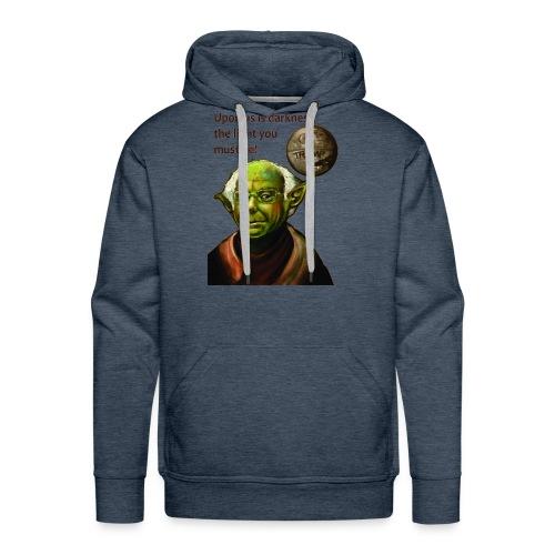 Yoda Bernie - Men's Premium Hoodie