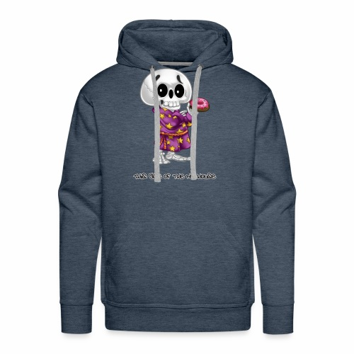 Lichs Love Donuts - This Side of the Nuthouse - Men's Premium Hoodie