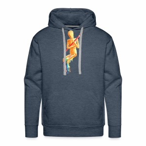 Melting Artist Without Fire - Men's Premium Hoodie