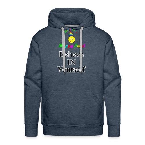 HTS Believe in Yourself Highlighted Logo - Men's Premium Hoodie