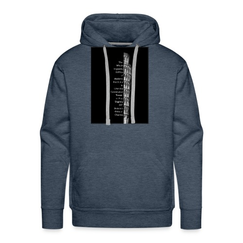 Leaning Tower of Pisa - Men's Premium Hoodie