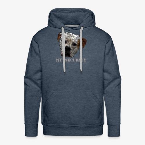 Pitbull ,Bulldogs,Watchdog - Men's Premium Hoodie