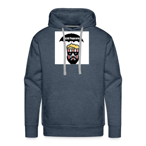 Acid Popcorn Logo Official - Men's Premium Hoodie