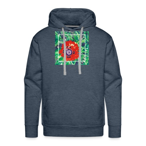 Poppy Watercolor - Men's Premium Hoodie