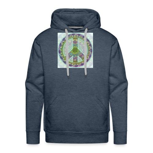 peace sign - Men's Premium Hoodie