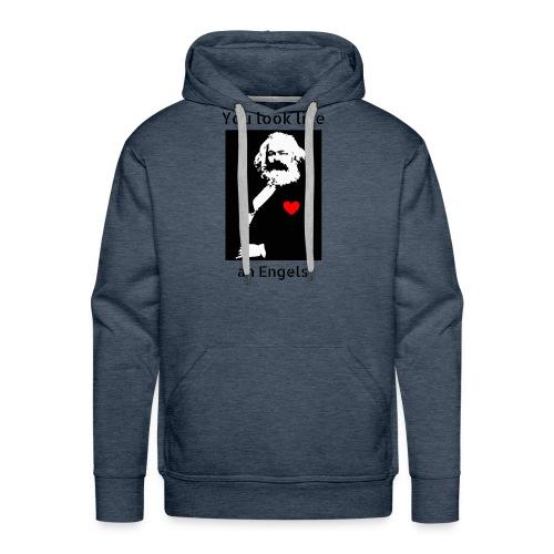 Marx_love_Shirt - Men's Premium Hoodie