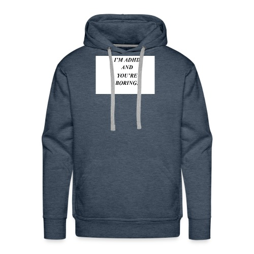 ADHD t shirts - Men's Premium Hoodie