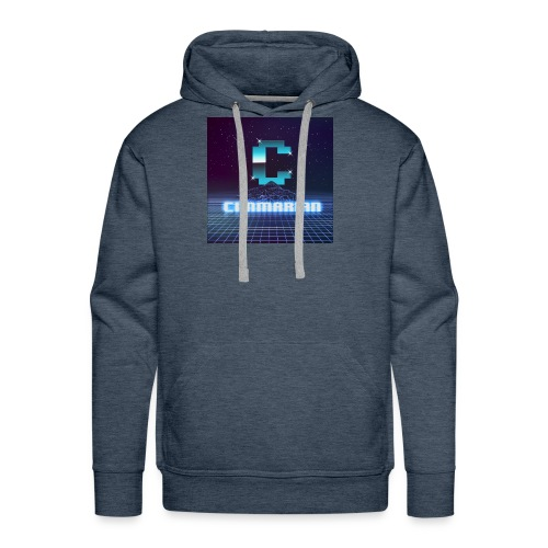 The killer 80s logo - Men's Premium Hoodie