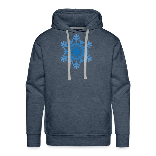 http-images-clipartpanda-com-snowflake-clipart-tra - Men's Premium Hoodie