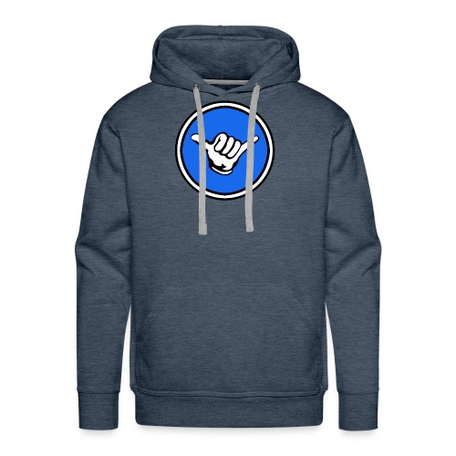 Shaka Gaming Main Logo - Men's Premium Hoodie