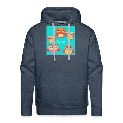 Cute owls - Men's Premium Hoodie