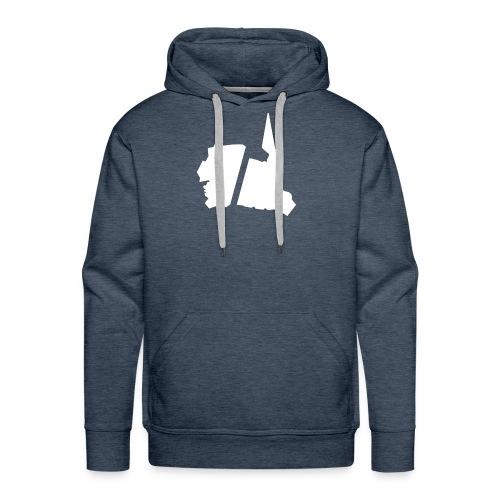 GBA_icon_white - Men's Premium Hoodie