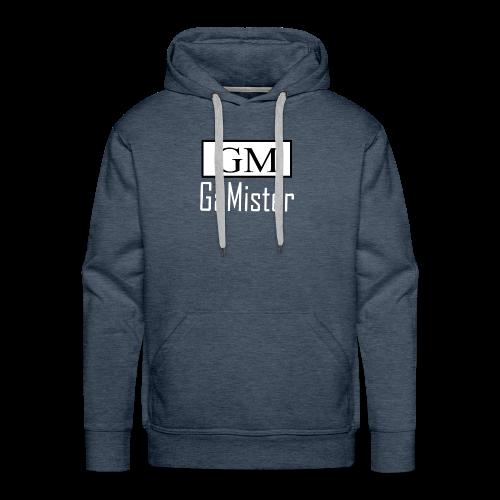 gamister_shirt_design_1_back - Men's Premium Hoodie