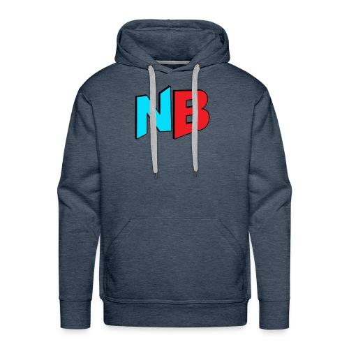 Nerdbooth.com Favicon Logo - Men's Premium Hoodie