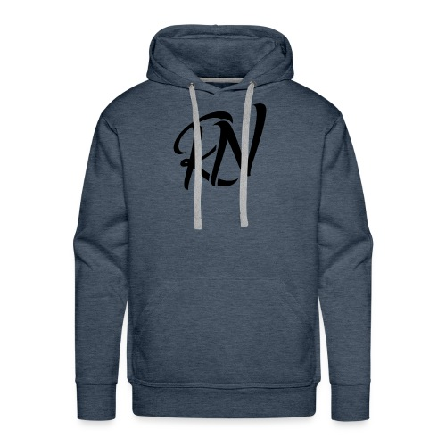 RomanNation Black (RN) - Men's Premium Hoodie