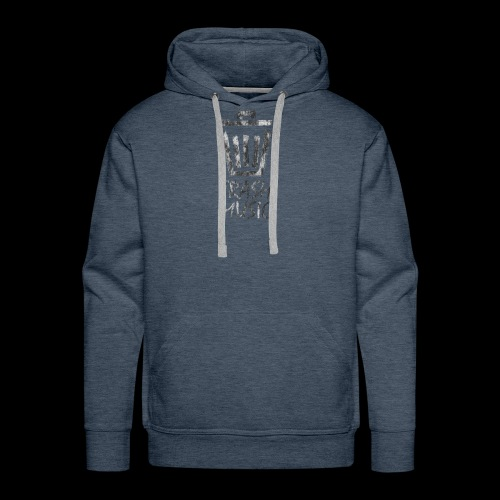 Grey Trash Logo - Men's Premium Hoodie