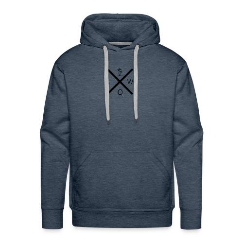 X Logo - Men's Premium Hoodie