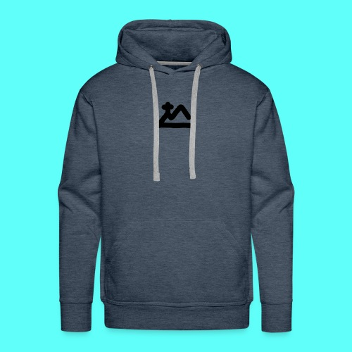 Meta Catholics plain - Men's Premium Hoodie