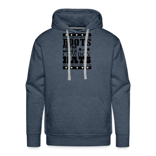 Cowboy t-shirt - Men's Premium Hoodie