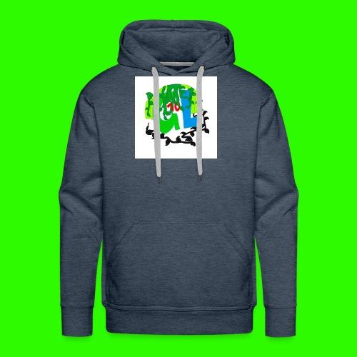 Greenleaf10 logo - Men's Premium Hoodie