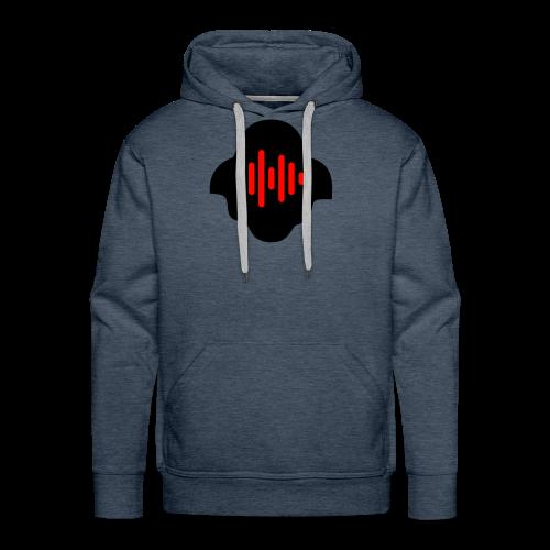 Black & Red - Men's Premium Hoodie
