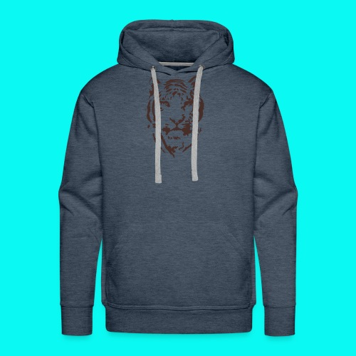 Tiger Printed T-shirt - Men's Premium Hoodie