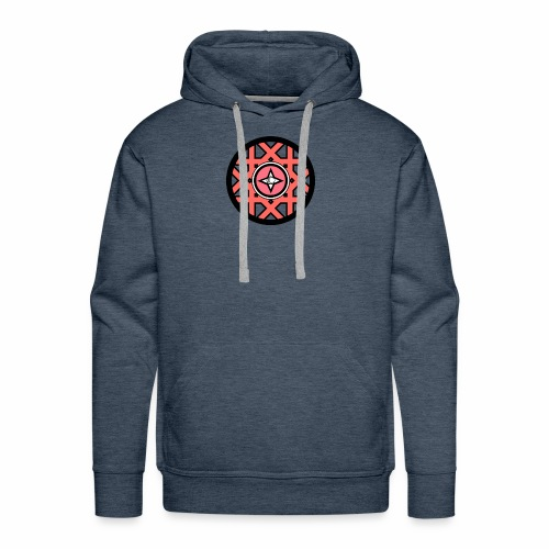 logo spiritual circle - Men's Premium Hoodie