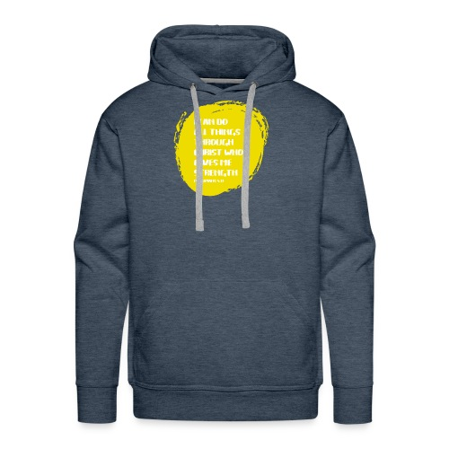 I can do all things - Men's Premium Hoodie